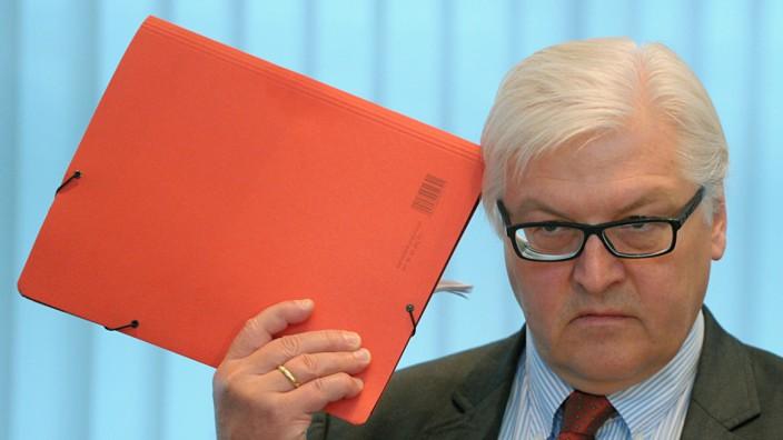 Plagiatsvorwürfe gegen Frank-Walter Steinmeier SPD