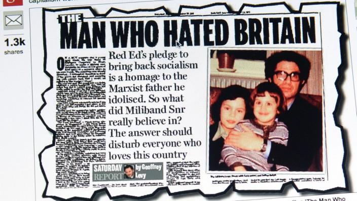"""""""The Man Who Hated Britain"""", erschienen in der Daily Mail"""