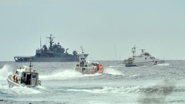 Hunderte Flüchtlinge vor Lampedusa ertrunken