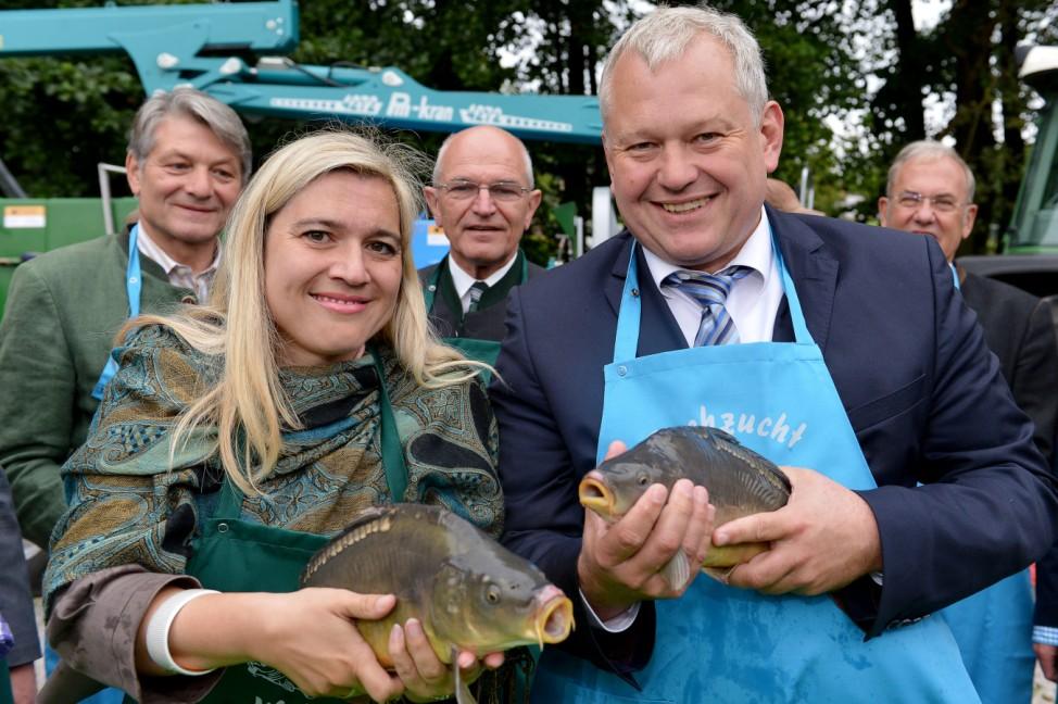Bayerische Karpfensaison eröffnet