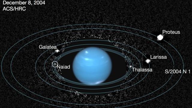 Naiad, Neptuns verlorener Mond