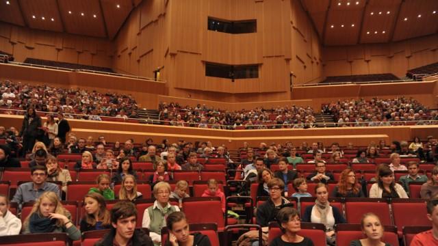 Generalprobe des BR Symphonierorchesters für Studenten in München, 2013