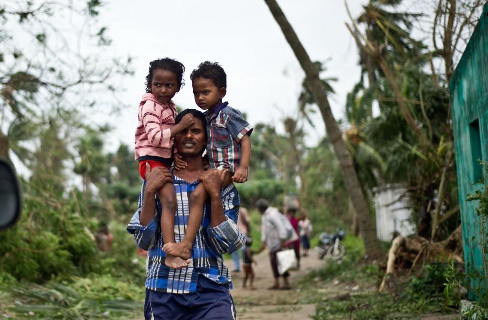 Zyklon Phailin in Indien