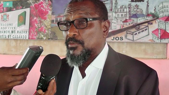 """Berüchtigter Somali in Belgien verhaftet: Filmprojekt als Lockmittel: Der verhaftete somalische Piratenführer Mohammed Abdi Hassan, genannt Afweyne (""""Großmaul"""")."""