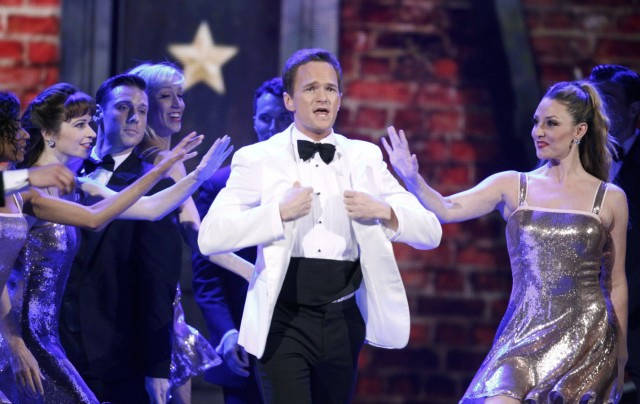 Host Neil Patrick Harris performs during the American Theatre Wing's 66th annual Tony Awards in New York