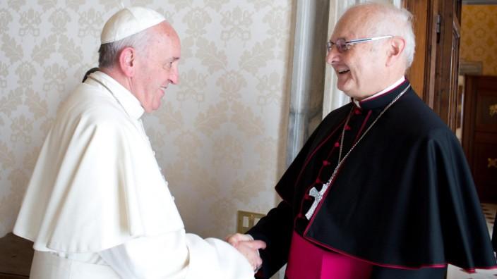 Pope's receives Robert Zollitsch