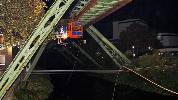 Schwebebahnunfall in Wuppertal