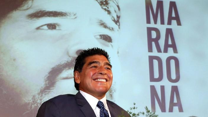 Diego Armando Maradona in Milan