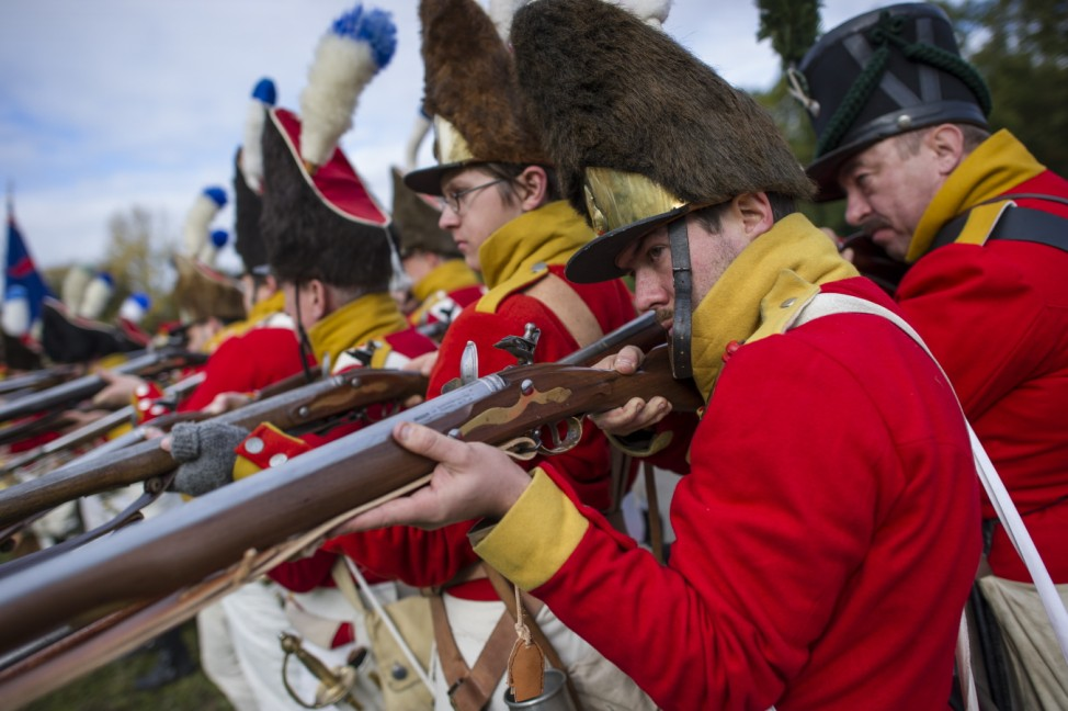 History Enthusiasts Commemorate 1813 Battle Of Nations