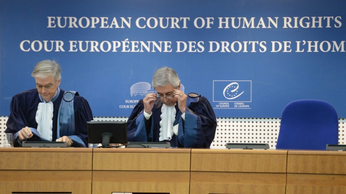 Hearing in the case of Janowiec vs Russia at ECHR in Strasbourg