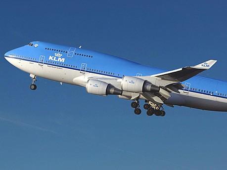 KLM; Foto: AFP