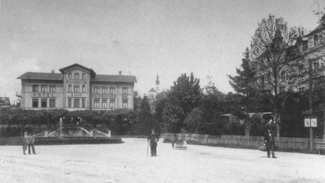 Bayeriescher Hof in Starnberg um 1890