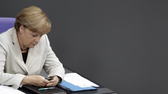 Angela Merkel Handy-Affäre