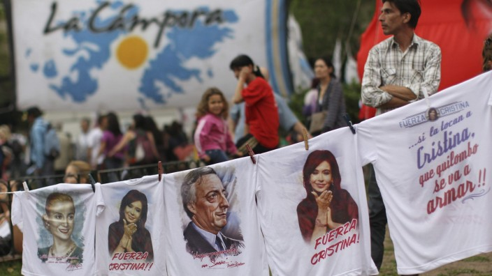vor Wahlen in Argentinien