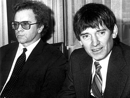 Hans-Heinz Heldmann; Otto Schily; dpa