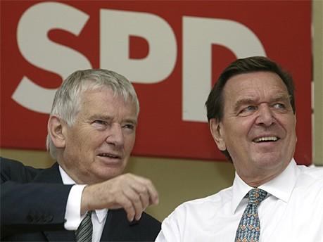 Otto Schily; Gerhard Schröder; AP