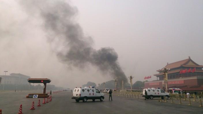 Tiananmen, Unfall, Tote, Verbotene Stadt