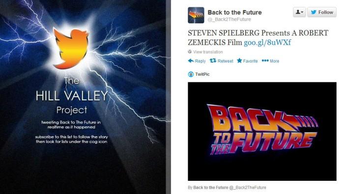 """""""Zurück in die Zukunft"""" auf Twitter: The Hill Valley Project"""