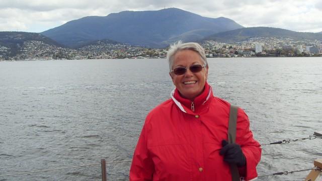 Granny-Aupair Inge Schneider in Tasmanien