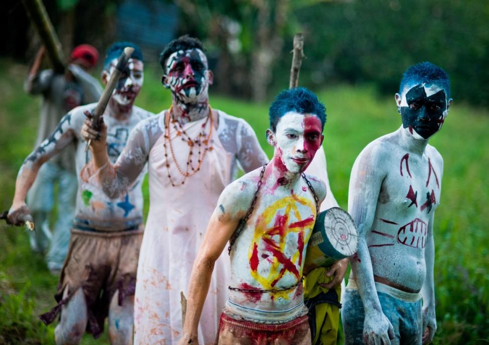 EL SALVADOR-RELIGION-SAINTS-DEAD