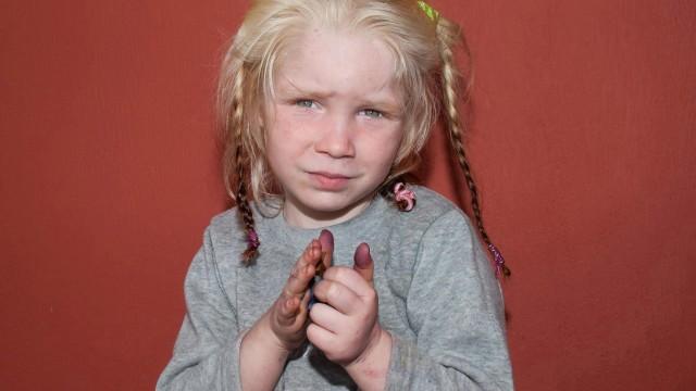 Child found in Greece
