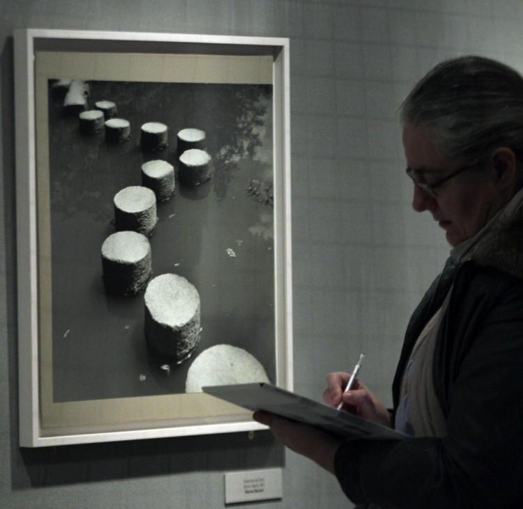 """Magnum Ausstellung in der """"Canal""""-Stiftung in Madrid."""
