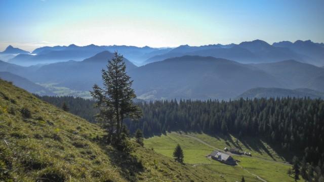 """""""Kein PWS"""": Nicht nur der Jochberg liegt der neuen Initiative am Herzen, sondern der Alpenraum insgesamt."""
