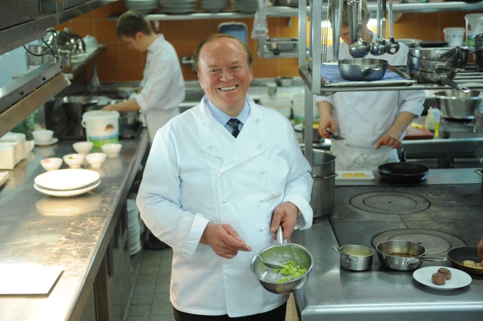Heinz Winkler in der 'Residenz' in Aschau, 2011
