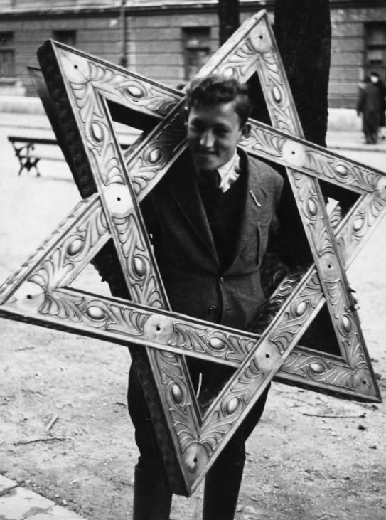 Brand der Synagoge in München| Burning of the synagogue in Munich, 9. November 1938 Pogromnacht