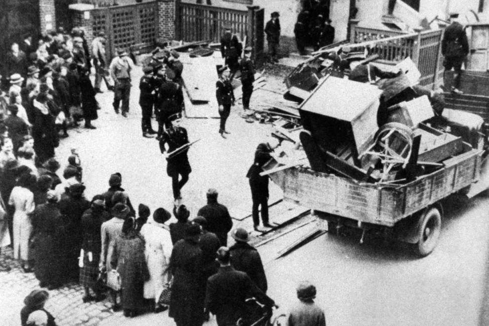 Reichspogrom in Hof,  | Pogrom in Hof, 9. November 1938 Pogromnacht