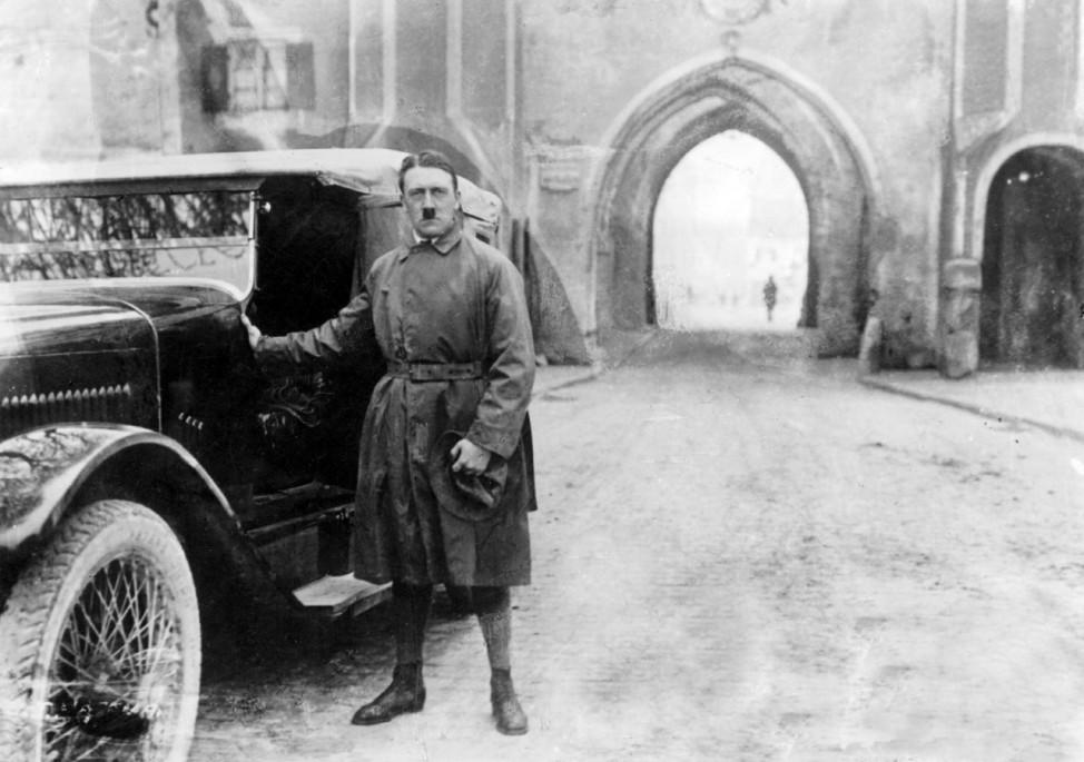 Adolf Hitler, 1924 Putsch Landsberg