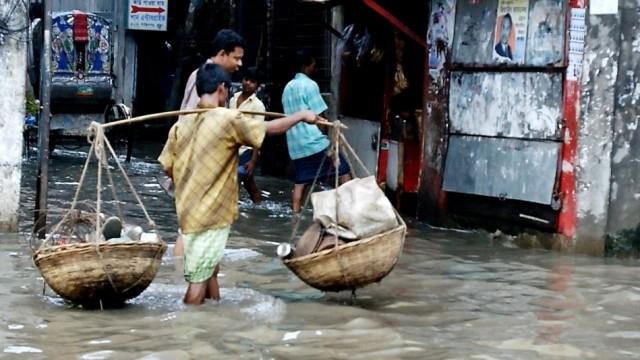 Überschwemmung in Bangladesh