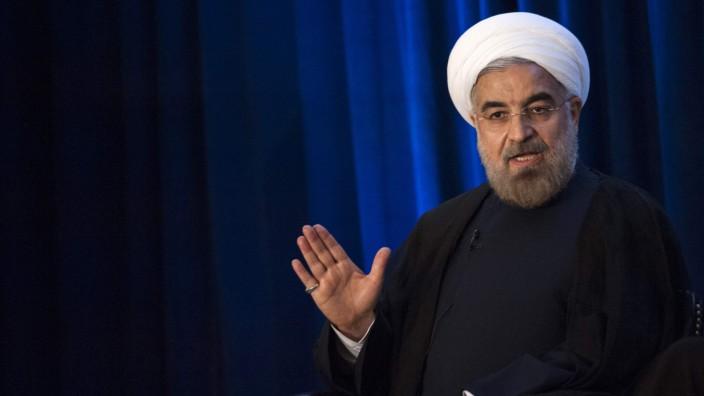 Hassan Rohani, Präsident des Iran