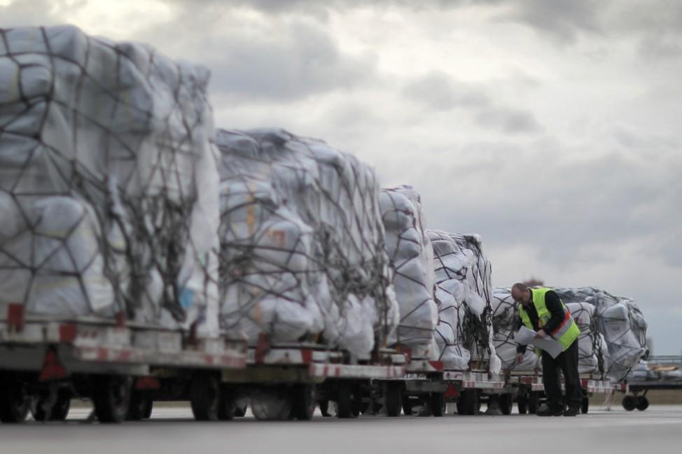 Hilfssendung für Taifunopfer auf Philippinen