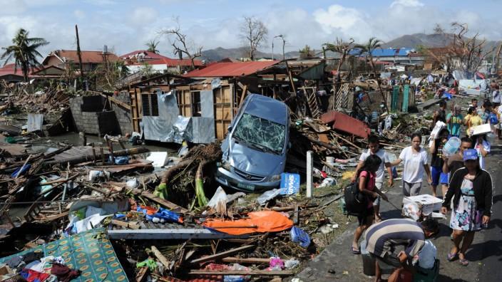 Taifun Haiyan und die Klimapolitik