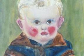 """Werke aus der Gurlitt-Sammlung: Otto Griebel: """"Kind am Tisch"""""""