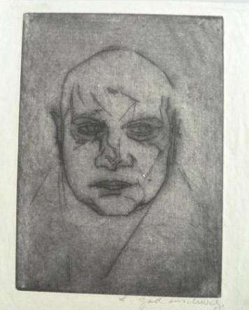 """Werke aus der Gurlitt-Sammlung: Ludwig Godenschweg: """"Männliches Bildnis"""""""