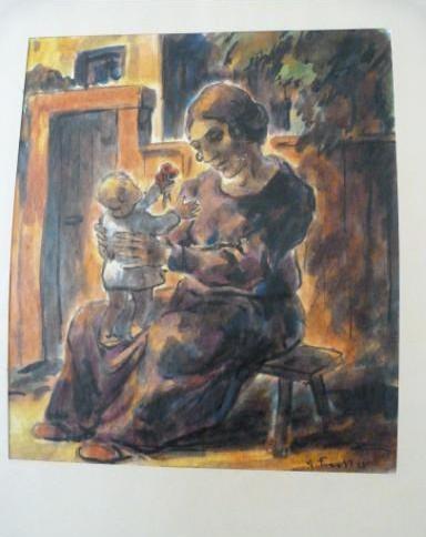 Gurlitt-Sammlung Erich Fraaß Mutter und Kind