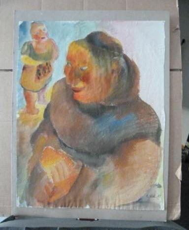 """Werke aus der Gurlitt-Sammlung: """"Mönch"""" von Christoph Voll"""