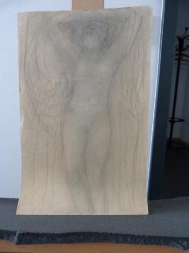 """Werke aus der Gurlitt-Sammlung: Auguste Rodin: """"Studie einer Frau"""""""