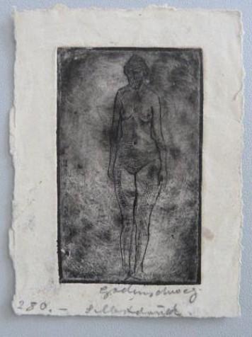 """Werke aus der Gurlitt-Sammlung: Ludwig Godenschweg: """"Weiblicher Akt"""""""