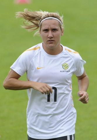 Frauen-WM 2011 - Australien Training