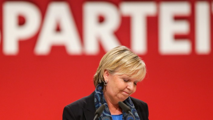 SPD-Bundesparteitag Kraft