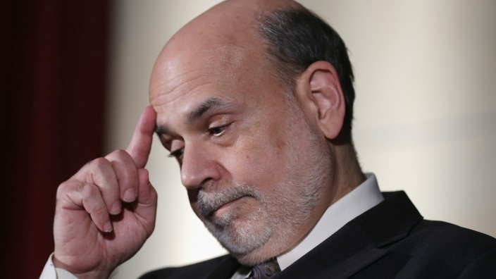 Federal Reserve Chairman Ben Bernanke Speaks At Nat'l Economists Club Annual Dinner