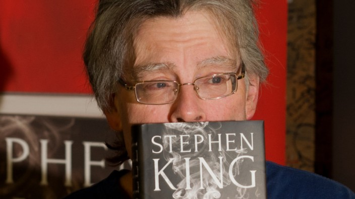 Stephen King stellt 'Doctor Sleep' in München vor