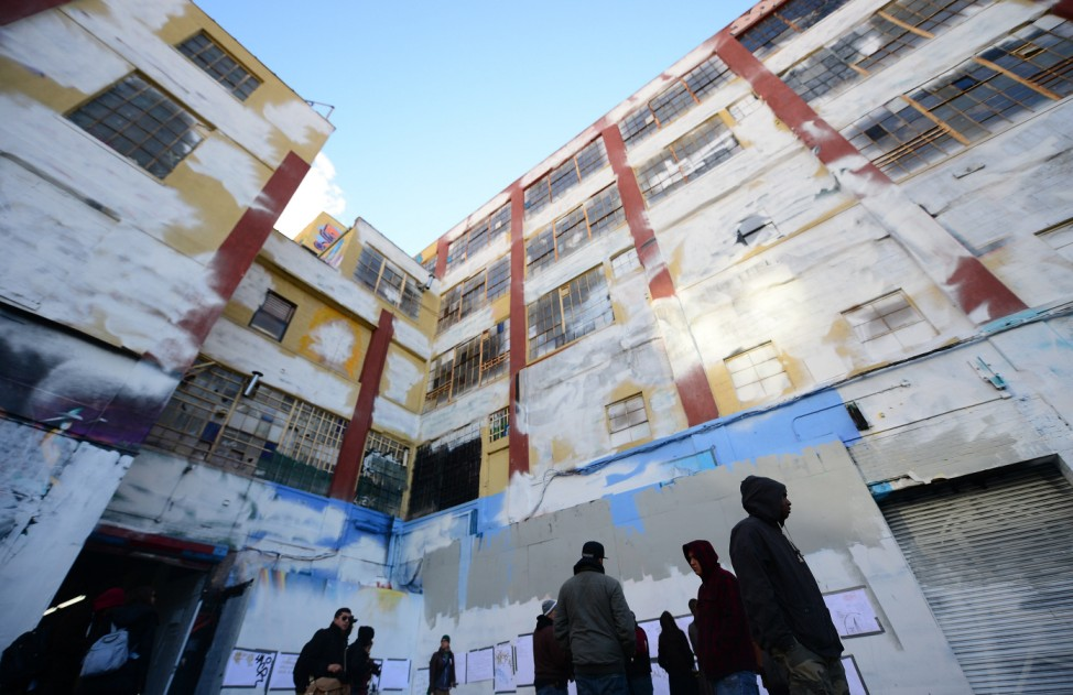 5Pointz Graffiti-Zentrum in New York übermalt