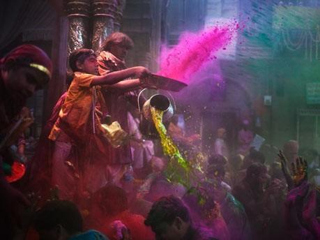 Holi Fest in IndienHoli Fest in Indien