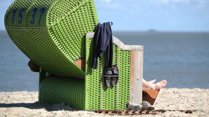 Strandkorb Meer Urlaub Tourismus Slow Tourism