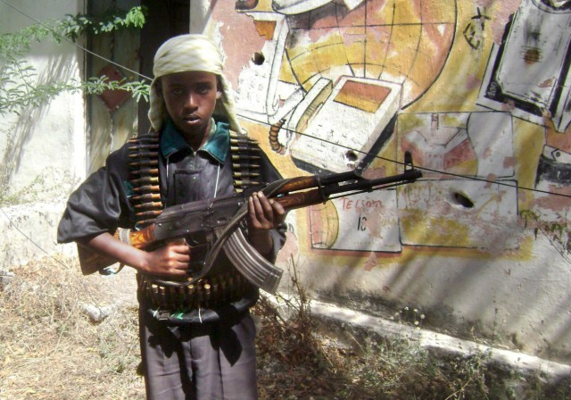 Kindersoldat in Somalia