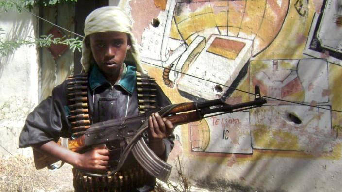Kindersoldat in Somalia